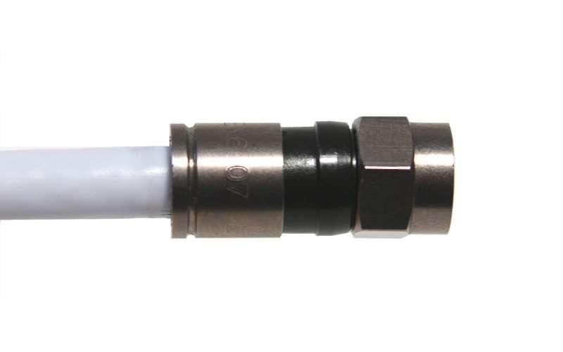 Konektor F PPC EX-6XL kompresní